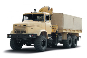 The recovery vehicle KrAZ-6322