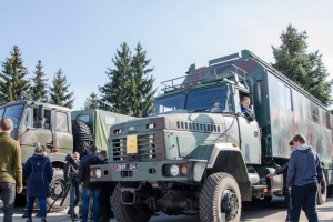 KrAZ Vehicles Demonstrate Power and Capability of National Guard