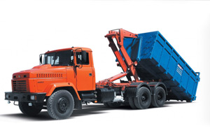 KrAZ-65053 with multilift handling mechanism