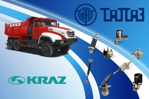KrAZ Tests Ukrainian Hydraulic Power Steering System