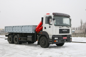 KrAZ Builds Unique Special Vehicles