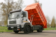 The KrAZ-5401С2 Grain Truck Partially Funded from the Budget