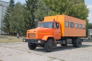 The batch of crew vehicles was supplied to Ukrainian Mining and Processing Plants