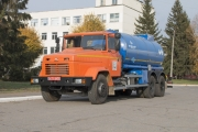 New KrAZ Tank Truck to Carry Coke Oven Gas Condensate