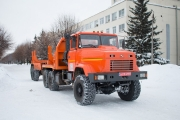 New Pipe Trucks KrAZ-6322 to Go to Different Customers
