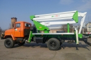 KrAZ Aerial Platform Trucks to Be Used for Works at Height at Mining and Concentrating Company