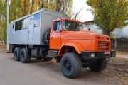 Bus Trucks on KrAZ-63221 All-terrain Chassis Are Responded to Oil-industry Workers Needs