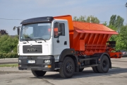 Unique in Ukraine KrAZ Special Vehicle at Poltava Mining and Concentrating Company