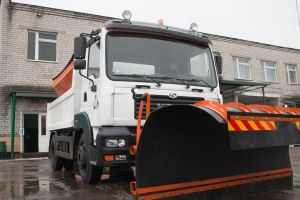 KrAZ Transfers New Special Vehicle to Kremenchug Municipal Company КТP-1628