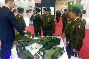 """KrAZ"" Represents Ukraine in Egypt at EDEX-2018"