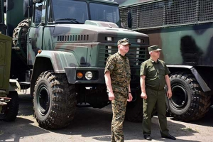KrAZ Vehicles Are Used for Training of Donbass Police Officers
