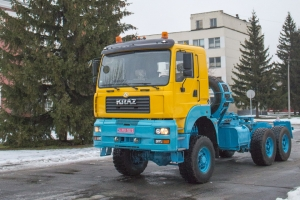 The KrAZ-6510ТЕ Truck in National Colors