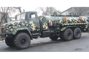 New Fuel Servicing Trucks Based on KrAZ Off Road Vehicle