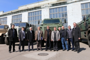 Visit of Scientists of NAS of Ukraine to KrAZ