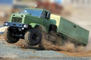 KrAZ Maintains Production Level and Revs Up
