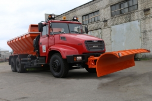 Priluki is Another Ukrainian Town to be Cleaned by KrAZ Vehicle
