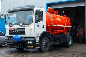 KrAZ Municipal Vehicles Will Eliminate The Effects Of Flooding In Djibouti (East Africa)