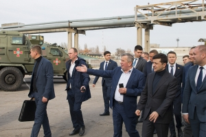 The President of Ukraine Volodymyr Zelenskyy's working visit to AvtoKrAZ
