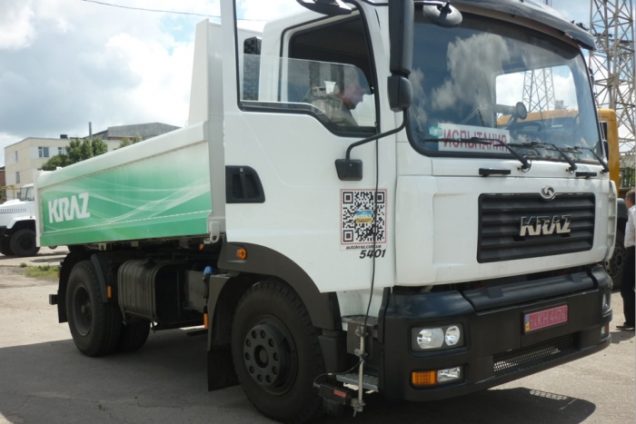 Completion of Preliminary Testing of New Two-Axle Dump Truck