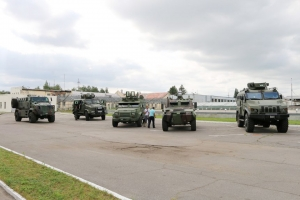 "Testing of Ukrainian Armored Vehicles on the Proving Ground of ""AutoKrAZ"""