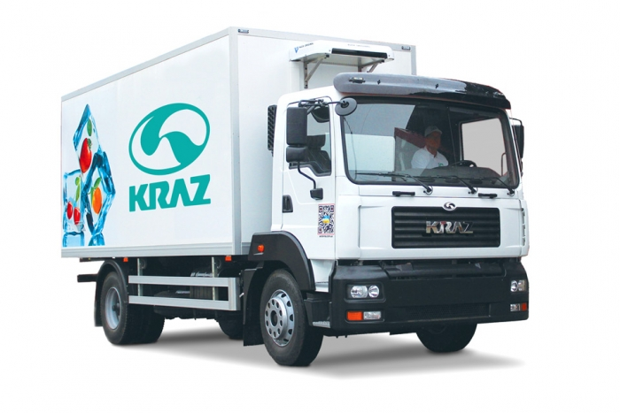 Refrigerated van KrAZ-5401Н2